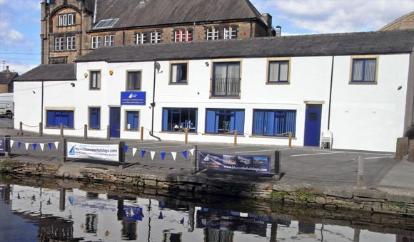 Picture shows Blue Water Holidays Offices, Bowers Wharf, Skipton