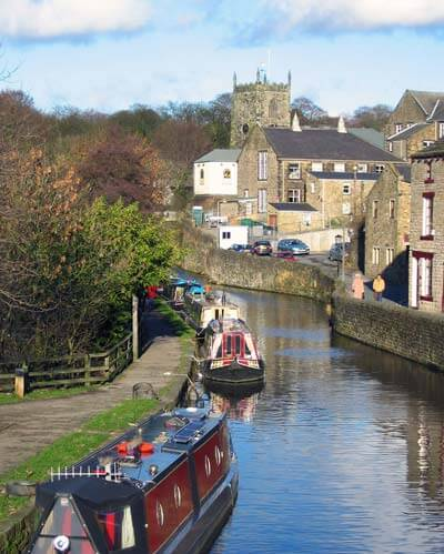 Skipton on the Leeds Liverpool Canal